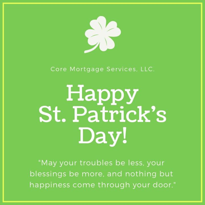 Happy St. Patrick's Day!!