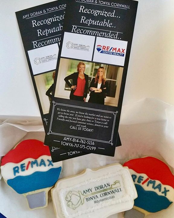 Thank you for the delicious treats Amy Doran and Tonya Cornwall! #wehavealoanforthat @ Core Mortgage Services, LLC