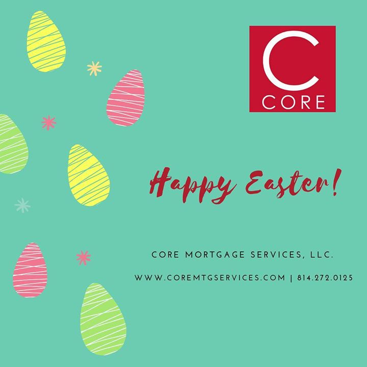 Wishing you a Happy Easter and joyful day with friends and family! #coreteam #corejmateo #wehavealoanforthat #statecollege #realestate #homeownership #mortgagebroker #refinance #fixandflip #statewide #renovationloan #localbusiness #lewistown #chooseoptimi