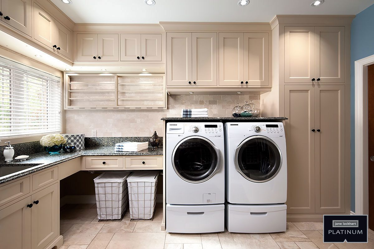 These seven laundry rooms show a winning combination of function and fashion.