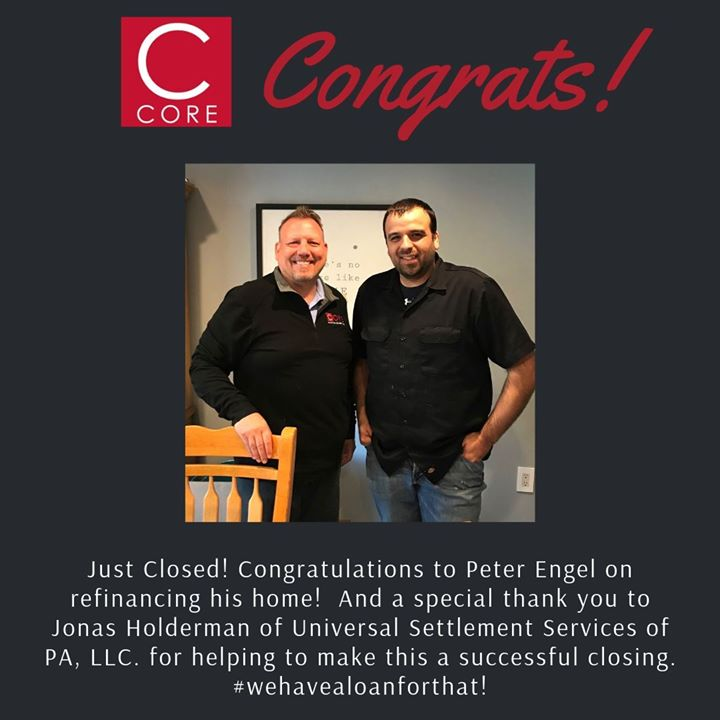 Happy Friday! Homeowner Peter Engel took advantage of the low interest rates and refinanced his home. Find out how we can help you too! #featurefriday #wehavealoanforthat